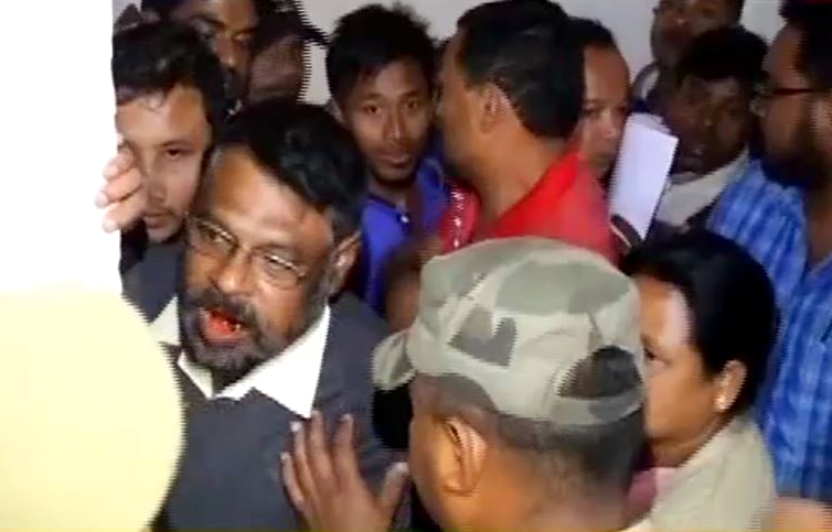 Cong candidates create ruckus at DC's office in Assam's Biswanath