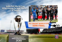 India crash out of World Cup 2019 after losing semi finals to New Zealand
