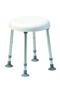 Delphi Shower Stool With Single Recess