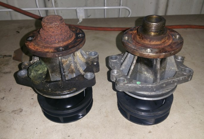 Water Pump Failure. Cooling System Analysis