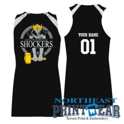 shockers jersey Northeast Printwear