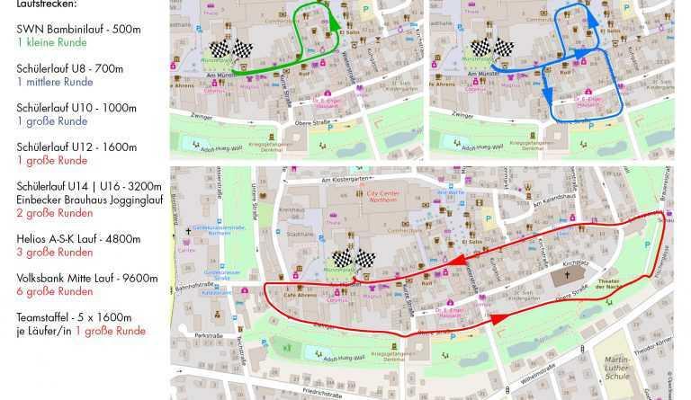 Alle Infos zum Stadtlauf 2019 auf einem Blick