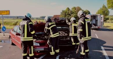 Wegen Unfall: B3 war bei Sudheim voll gesperrt