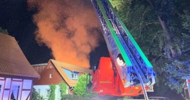 Einbeck: Drei Feuer in drei Tagen – Polizei startet Ermittlungsgruppe