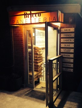 Outside Bricco Panetteria