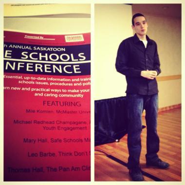 @ SAFE School's Conference in Saskatoon 2013