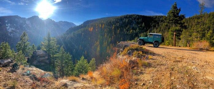Bear Creek Overlook Victor Montana Landcruiser