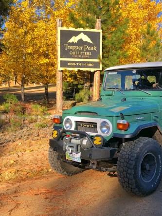 Landcruiser Trapper Peak Lodge