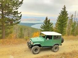 Toyota Landcruiser Boulder Creek Flathead Lake View