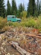 Toyota Landcruiser Clearing Boulder Creek Montana