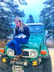 Crystal reading Overland Journal