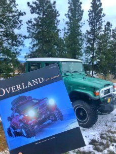 Overland Journal and Landcruiser