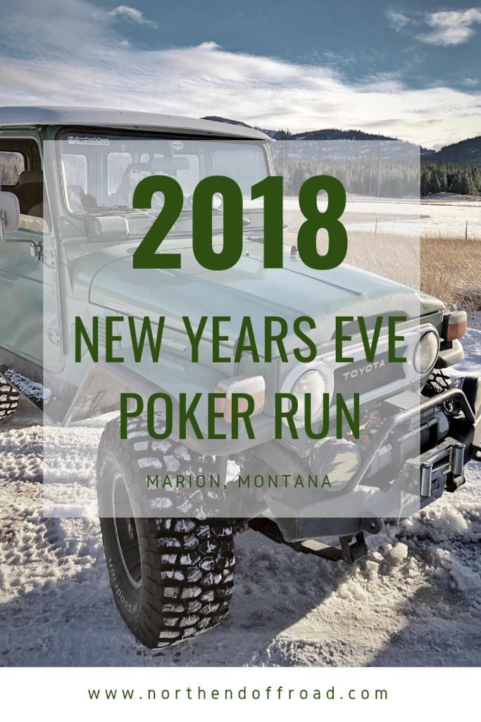 New Years Eve Poker Run