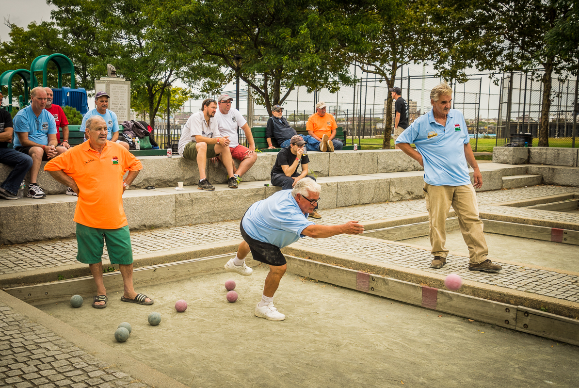 Image result for seniors playing bocce