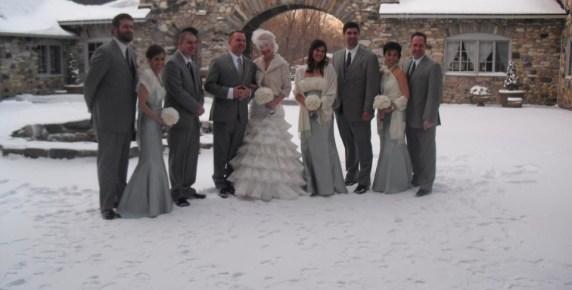 winter weddings in Northern Michigan