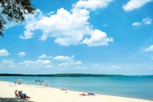 Click here for information on the top five beaches in Traverse City, all  great places for your Traverse City wedding.