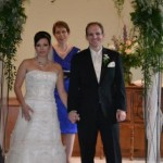 Rev Eileen with Northern Michigan Wedding Officiants