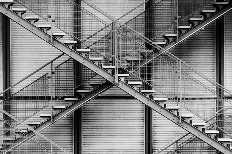 Is Steel Staircase Worth It Edmonton Structural Steel Fabrication | Structural Steel Stair Design | Steel Construction | 4 Column Steel | Detailing | Steel Staircase | Small Space