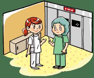 手術室は怖い?手術後の傷の痛み