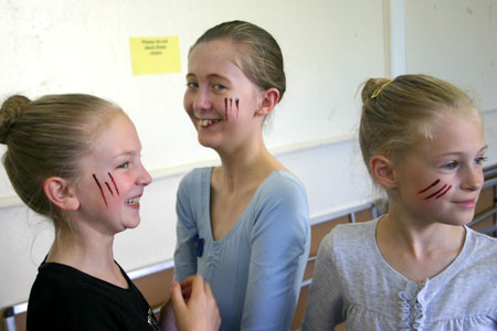 Fun Hallowe'en Make-up (Photo: Hannah Kirkpatrick)