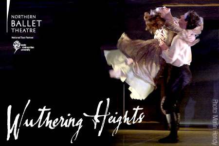 Wuthering Heights - Northern Ballet Theatre Photo by Merlin Hendy