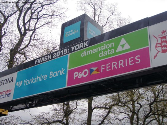 York - tour de Yorkshire - finish line