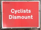 York - road sign