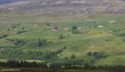 Swaledale from Harkerside Moor