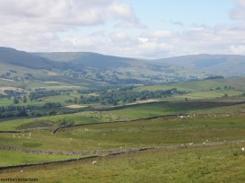 Wensleydale from above Askrigg