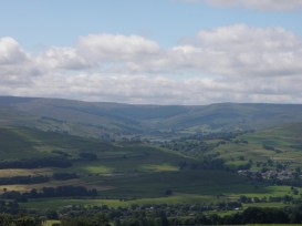 Looking towards Semer Water, Wensleydale