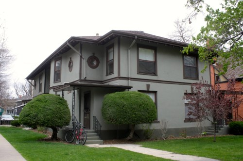 Fuller Flats was built by Montezuma Fuller, one of Fort Collins' early architects. The property at 228 W. Magnolia is still used as apartments today.