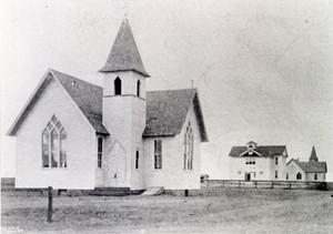 The Methodist Church in Wellington, which John Bee (see last week's post) helped to establish.