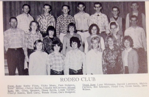The Rodeo Club in 1965.
