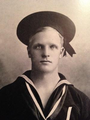 Hugo Evon Frey, the Navy man. (Photo from Hugo's Odyssey.)