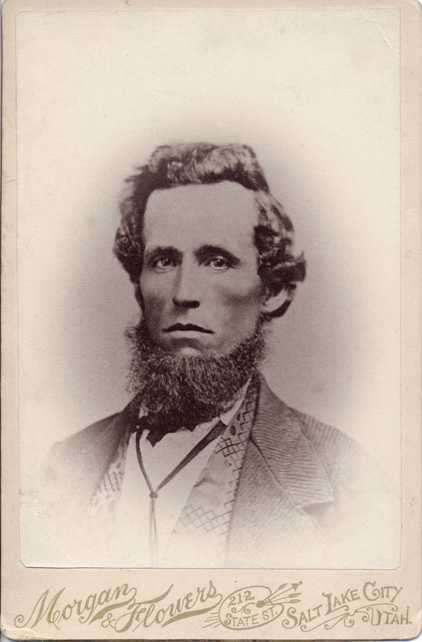 Jacob Flowers circa 1870. (Photo acquired from Findagrave.com and posted by Daisy, although it's apparently owned by the FC Archive - 5881F - although I was unable to find it through the online site.)