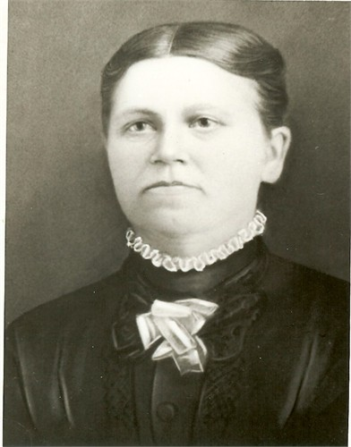 Elizabeth Meeks Flowers (Photo from dawnmatson65 on Ancestry.com and quite likely in the Fort Collins archive, though I don't have a reference number for it.)