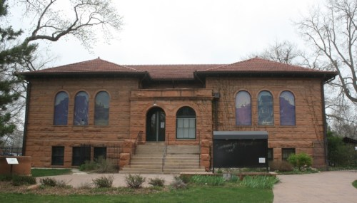 Albert Bryan was the architect of the Carnegie Library, which was built in 1903.