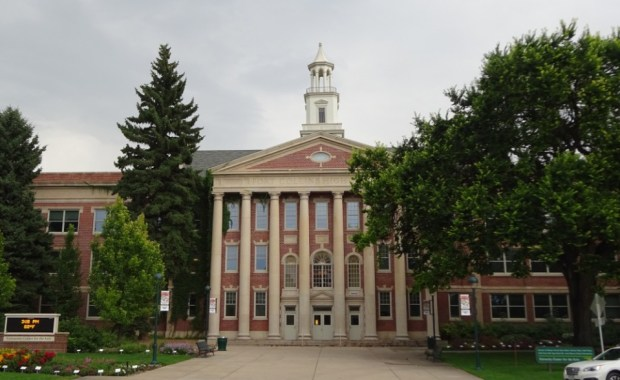 Fort Collins High School, built in 1925, is now owned by the University.