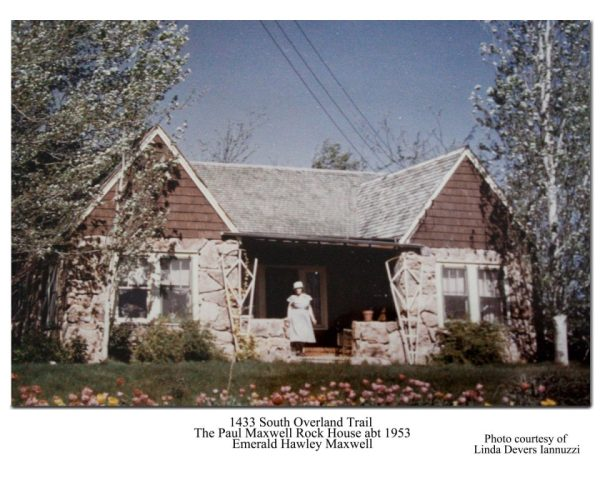 1433 Overland Trail abt 1953