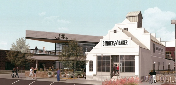 Ginger and Baker has broken ground at Linden and Willow.