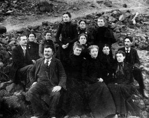 A Chautauqua club in Basalt, Colorado. c. 1904 (Photo from the Denver Public Library - X7200.)