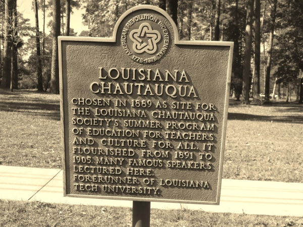 The Louisiana Chautauqua was the kernel from which Louisiana Technical University sprung.