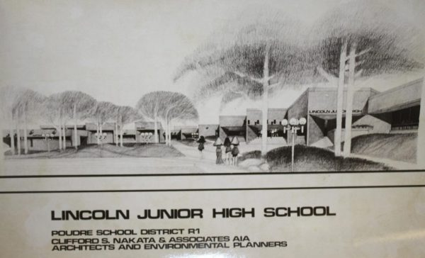 An architect's rendering of what the new Lincoln Junior High would look like.