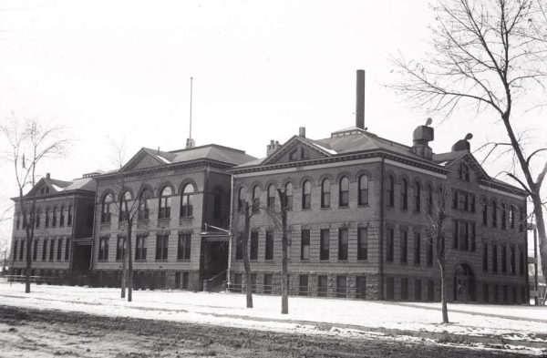 Exhibit 11 – Fort Collins Junior High School looked like this in 1927.