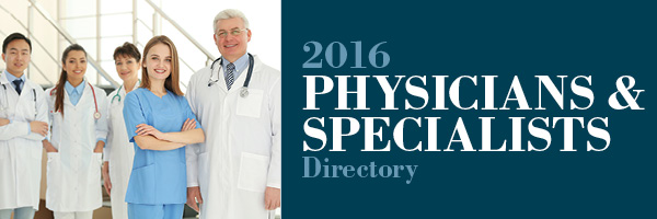 2016 Physicians & Specialists Directory - Northern