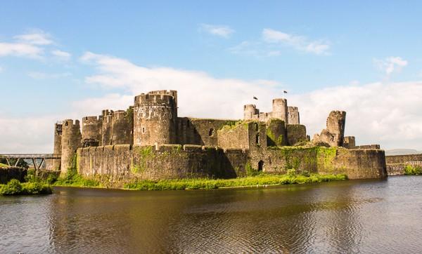 Caerphilly Castle UK Travel