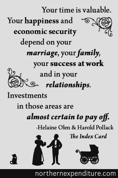 Investments in marriage, family, and success at work are almost certain to pay off.