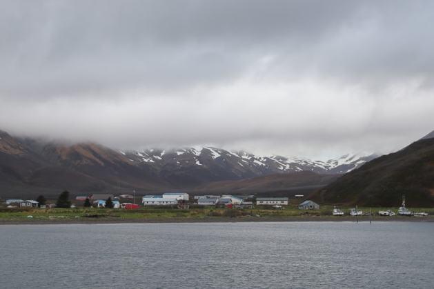 Aleutian village