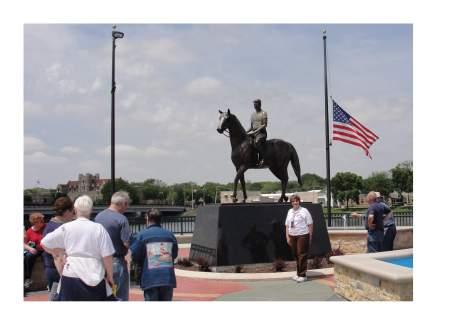President Ragen on Horse
