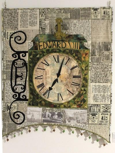 """Valerie McKeown """"Fivemiletown Clock"""""""
